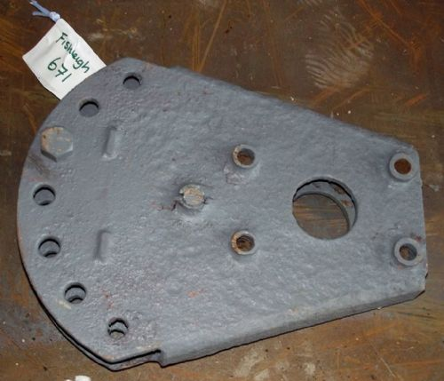 Fordson Dexta Tractor Swinging Drawbar Belly Plate Assembly.